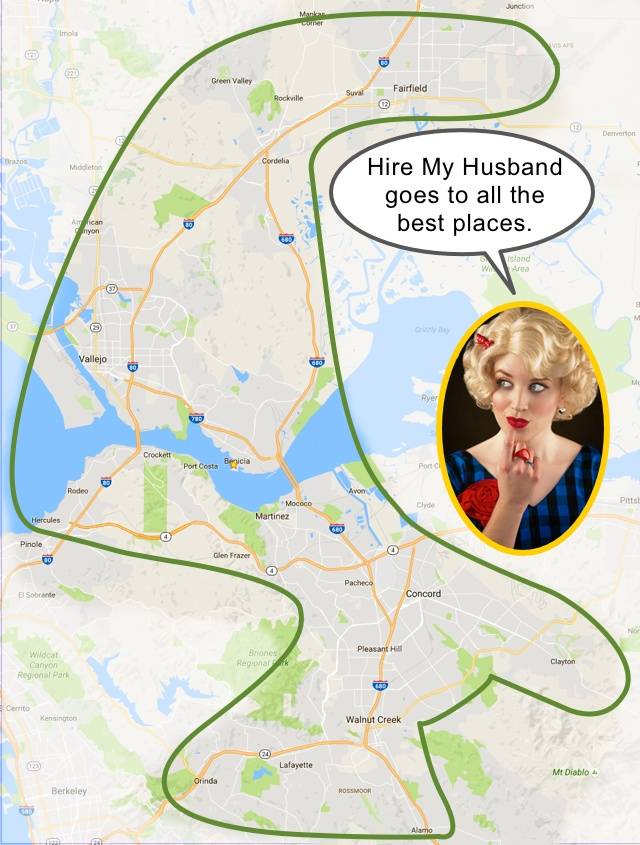 Hire My Husband Service Area